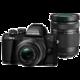 Olympus E-M10 Mark II + 14-42mm II R + 40-150mm R, černá/černá  + Získejte zpět až 5 200 Kč
