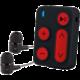 Sencor MP3 SFP 3608, 8GB, černá/červená  + Nakupte alespoň za 2 000 Kč a získejte 100Kč slevový kód na LEGO (kombinovatelný, max. 1ks/objednávku)