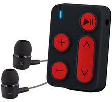 Sencor MP3 SFP 3608, 8GB, černá/červená - SFP 3608 BR