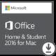 Microsoft Office Mac 2016 pro domácnosti - elektronicky