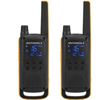 Motorola TLKR T82 Extreme, žlutá/černá - D8P00811YDEMAG