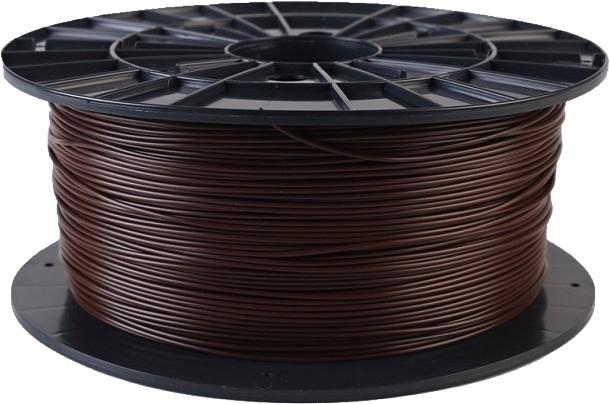 Plasty Mladeč tisková struna (filament), PLA, 1,75mm, 1kg, hnědá