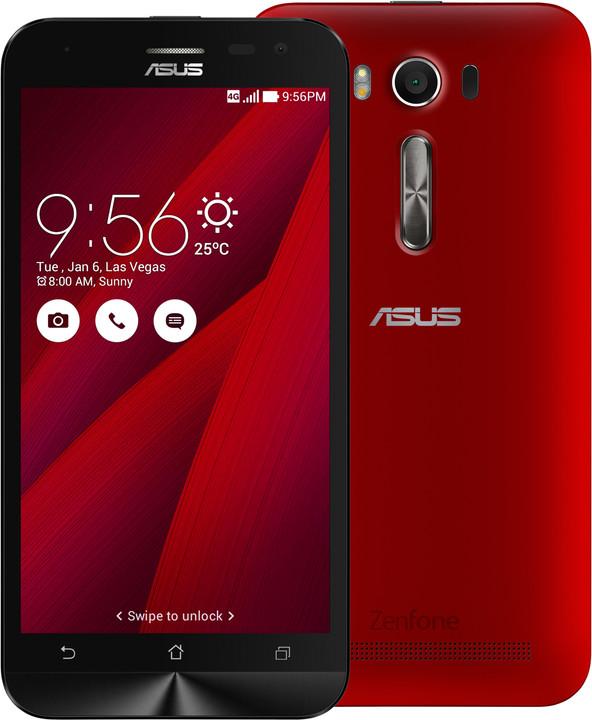 ASUS ZenFone 2 Laser, červená