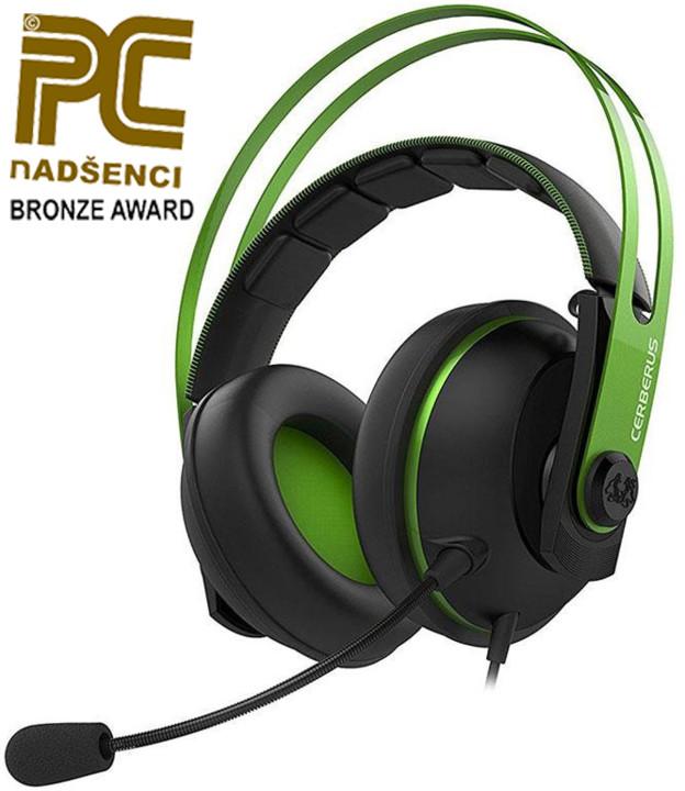 ASUS Cerberus V2, zelená