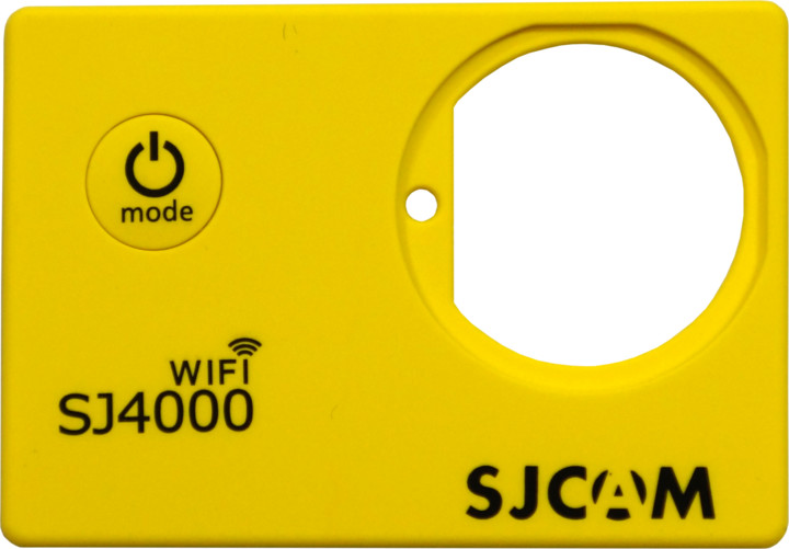 SJCAM ochranný kryt pro SJ4000 WIFI, žlutý