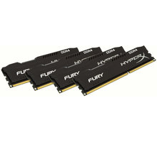 HyperX Fury Black 32GB (4x8GB) DDR4 2400