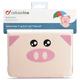 """CellularLine Vision ANIMAL univerzální pouzdro pro tablety s úhlopříčkou do 8"""" - motiv Pig"""