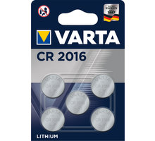 VARTA CR2016, 5ks - 6016101415