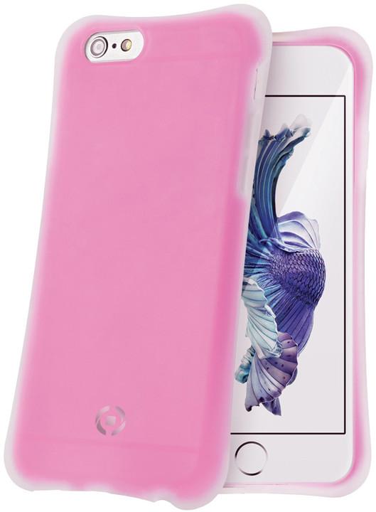 CELLY ICECUBE zadní kryt pro Apple iPhone 6S, fuchsiová