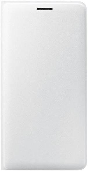 Samsung flipové s kapsou pro Galaxy J3, bílé