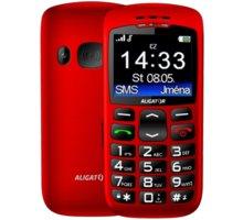 Aligator A670, červená + nabíjecí stojánek  + Elektronické předplatné čtiva v hodnotě 4 800 Kč na půl roku zdarma + Kuki TV na 2 měsíce zdarma