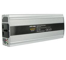 Whitenergy měnič napětí DC/AC, 24V/230V, 800W - 06586