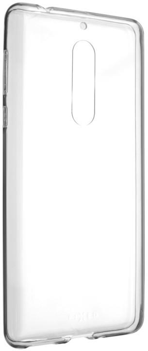 FIXED Skin ultratenké TPU gelové pouzdro pro Nokia 5, 0,5 mm, čiré