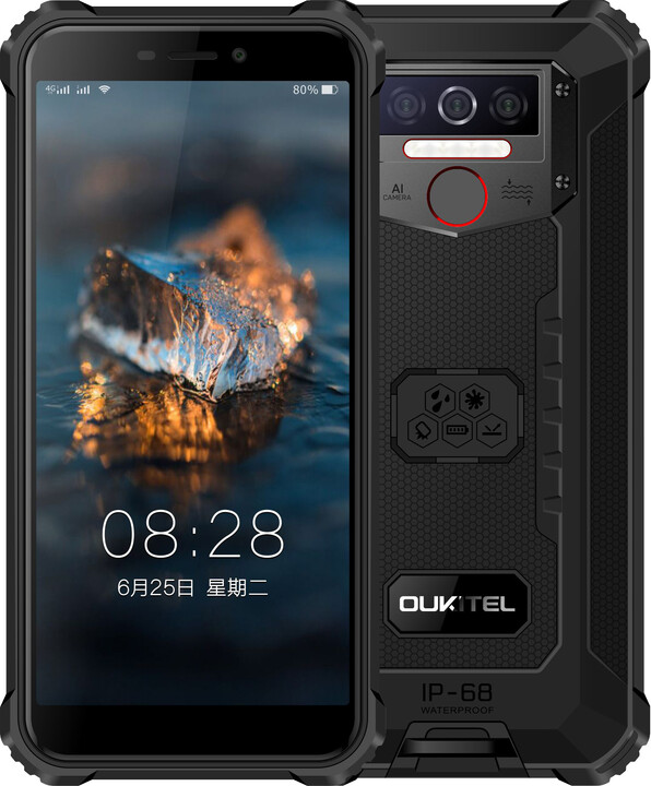 OUKITEL WP5, 3GB/32GB, Black