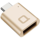 Nonda USB Type-C > USB 3.0 Typ-A Mini adaptér - Gold
