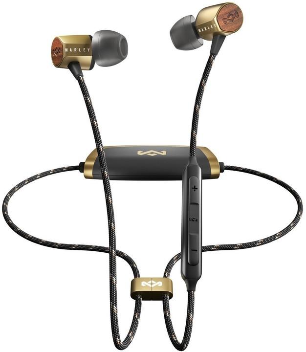 Marley Uplift 2 Wireless BT, černá/zlatá