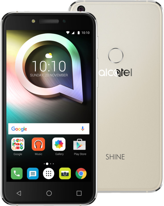 ALCATEL SHINE Lite, zlatá