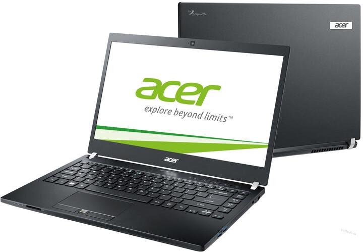 Acer TravelMate P6 (P645-S-578G), černá