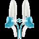 Yurbuds Focus 300, modrá
