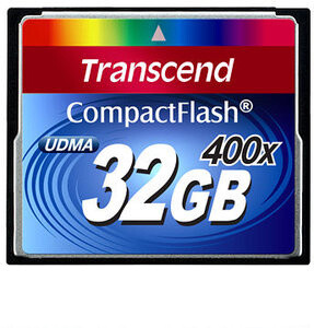 Transcend CompactFlash 400x 32GB