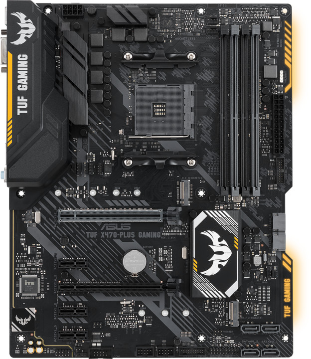 ASUS TUF X470-PLUS GAMING - AMD X470