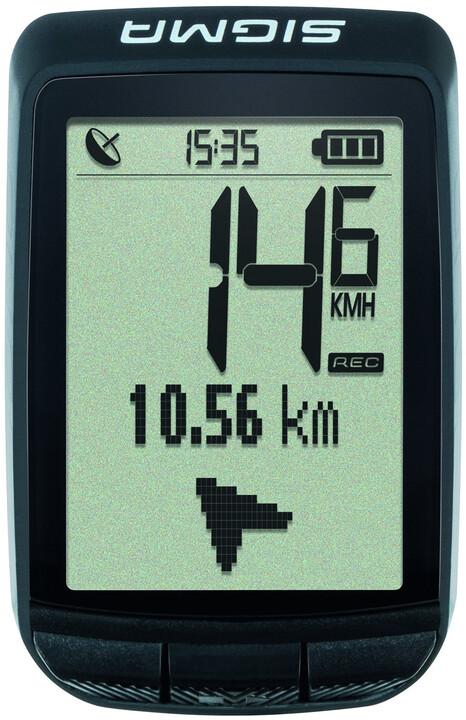 Sigma Pure GPS Smart NFC, černá