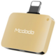 Mcdodo Lightning To Dual Lightning Adapter 5V, 1A (29x20x7,6 mm), Gold