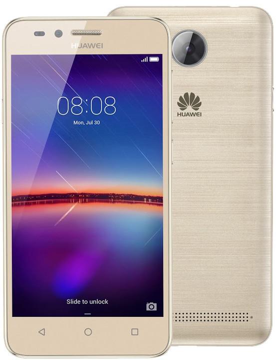 Huawei Y3 II, Dual Sim, zlatá