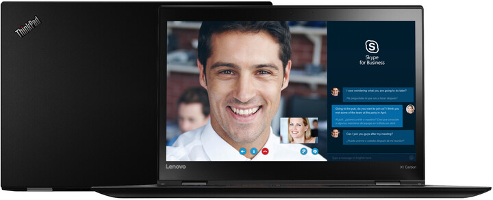 Lenovo ThinkPad X1 Carbon 4, černá