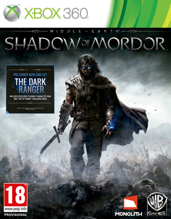Middle-Earth: Shadow of Mordor - X360