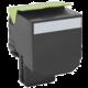 Lexmark 80C2XK0, černá, return