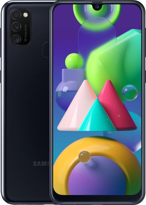 Samsung Galaxy M21, 4GB/64GB, Black