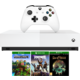 Xbox One S All-Digital, 1TB, bílá + Minecraft, Fortnite, Sea of Thieves  + 100Kč slevový kód na LEGO (kombinovatelný, max. 1ks/objednávku) + Roční digitální předplatné časopisu CHIP