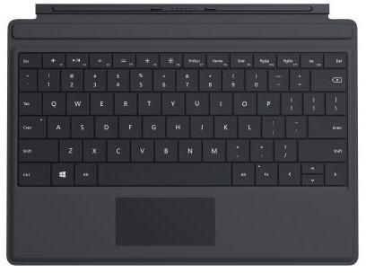 Microsoft Surface 3 Type Cover, černá