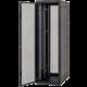 Triton RMA-37-A66-BAX-A1, stojanový, 37U, 600x600, skleněné dveře, černý
