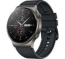 Huawei Watch GT 2 Pro, Night Black O2 TV Sport Pack na 3 měsíce (max. 1x na objednávku)