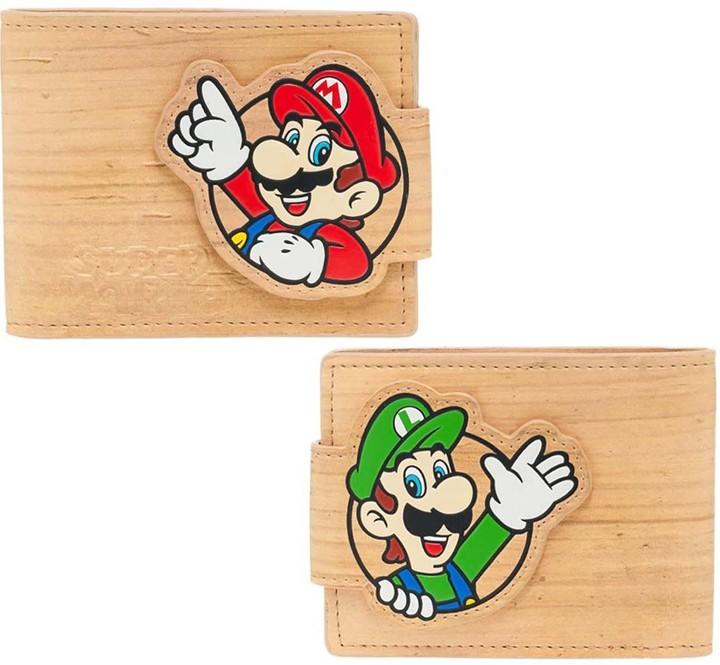 Nintendo - Mario a Luigi Woodgrain