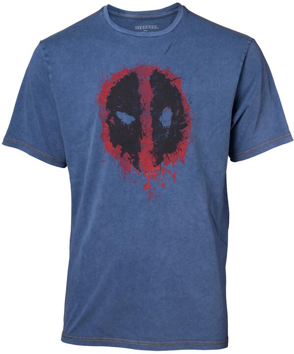 Tričko Deadpool - Faux Denim (L)