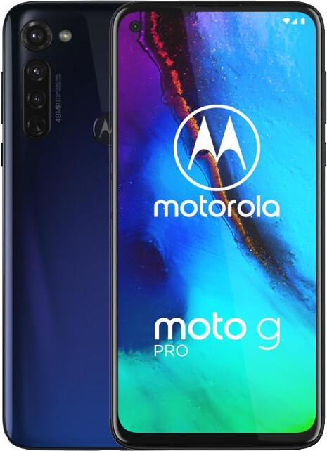 Motorola Moto G Pro, 4GB/128GB, Graphene Blue