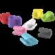 Allocacoc CableFix 8x, barevný mix
