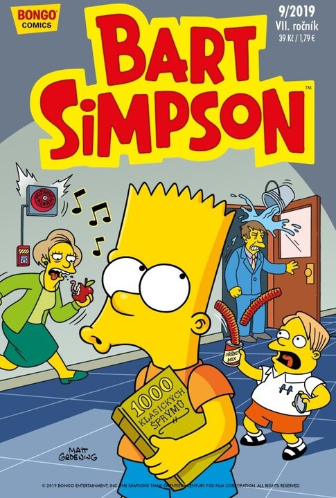 Komiks Bart Simpson, 9/2019