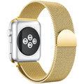 MAX náhradní řemínek MAS27 pro Apple Watch, 42/44mm, zlatá