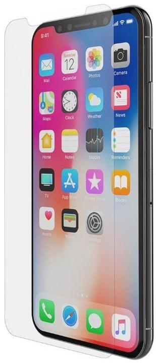Belkin Tempered ochranné zakřivené sklo displeje pro iPhone X, s instal. rámečkem