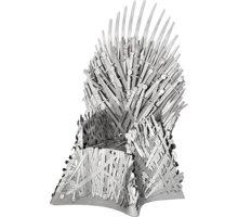 Stavebnice ICONX Game of Thrones - Železný trůn, kovová