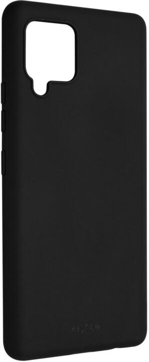 FIXED pogumovaný kryt Story pro Samsung Galaxy A42, černá