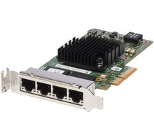 Dell 4-portová sítová karta 1 GbE - Intel i350 QP, PCIe, poloviční výška - 540-BBDV
