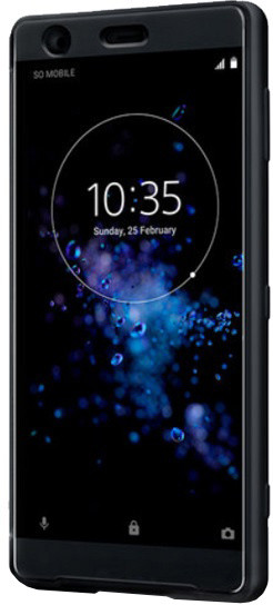 Sony SCTH40 Style Cover Touch pouzdro Xperia XZ2, černá