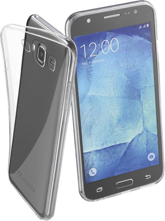 CellularLine zadní ochranný kryt Fine pro Samsung Galaxy J5, bezbarvá