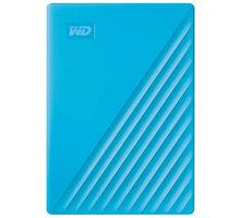 WD My Passport - 4TB, modrá - WDBPKJ0040BBL-WESN