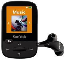 SanDisk Sansa Clip Sports 8GB, černá - SDMX24-008G-G46K